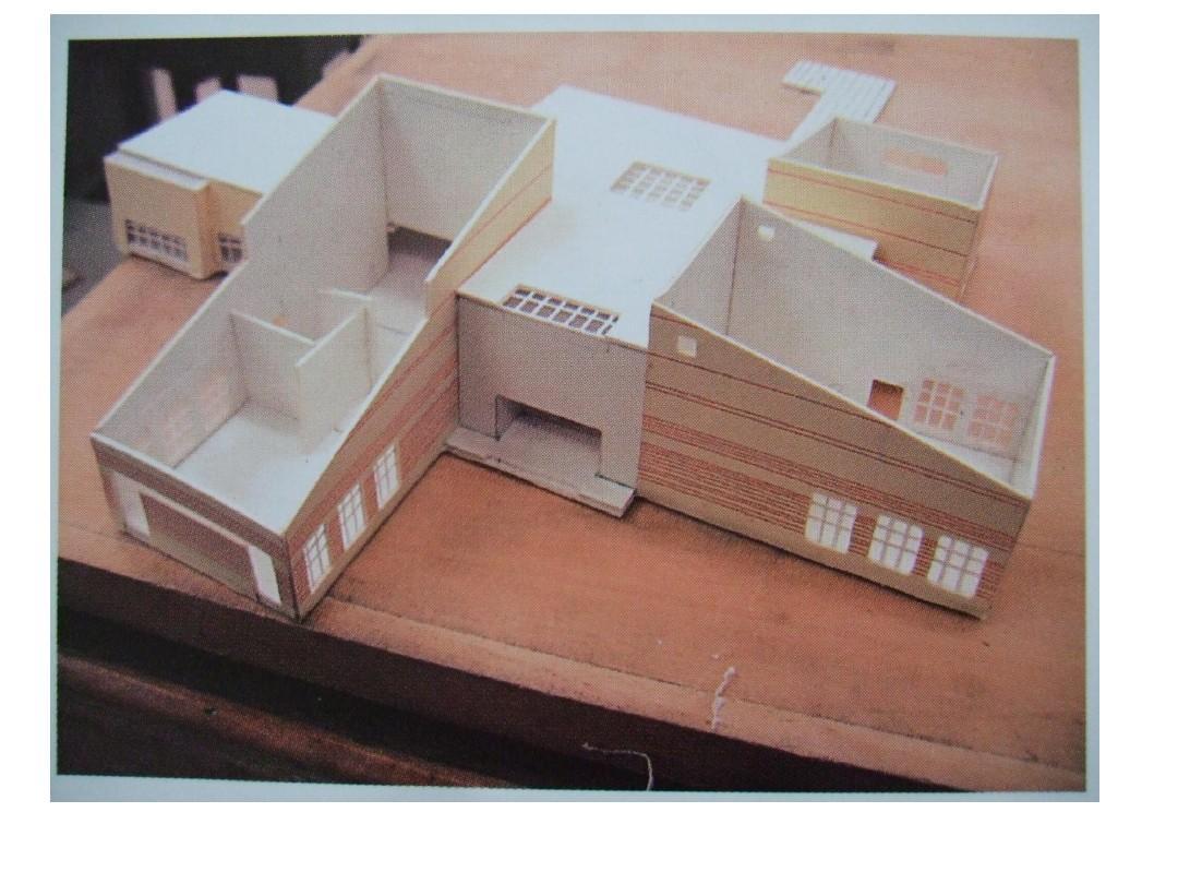 纸质建筑模型制作2ppt