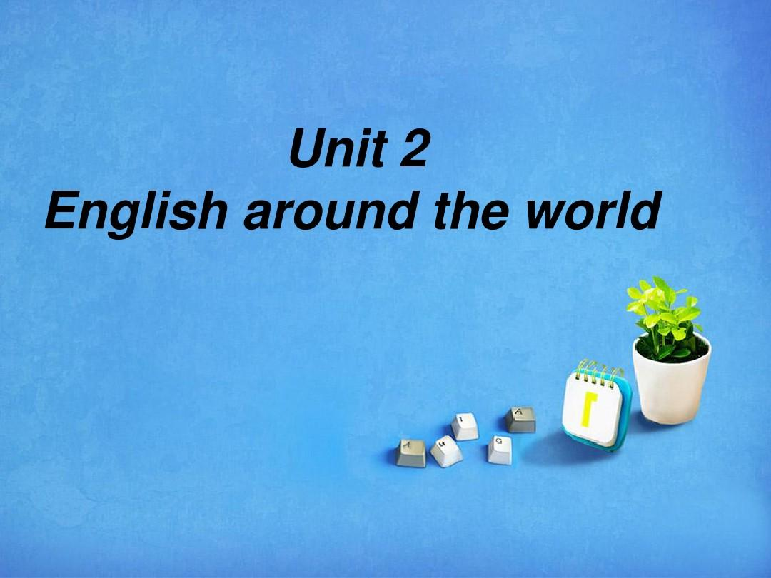 English around the world 阅读课件