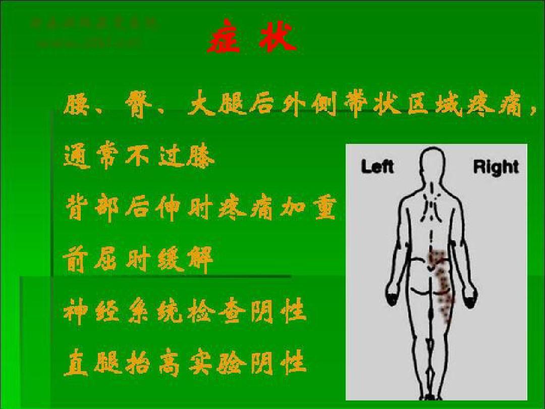 拭腰骶部在那个位置�_射频治疗脊神经后支内侧支引起的腰骶部疼痛ppt