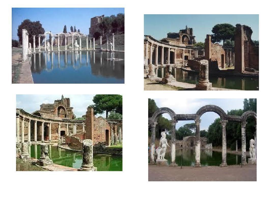 古罗马园林ppt图片
