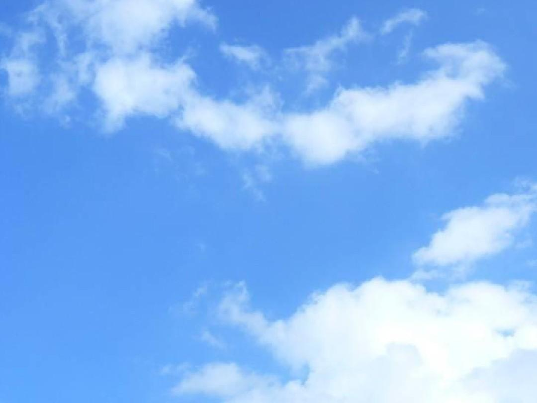 ppt背景—蓝天白云图片