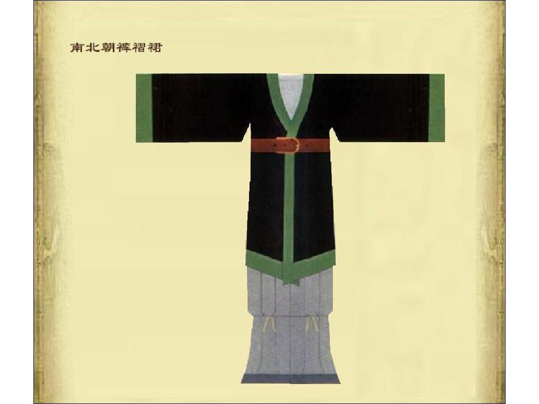 中国历代服装经典款式(男装篇)