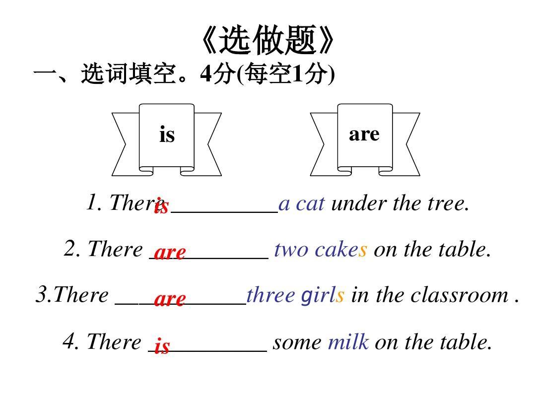 2014年外研版小学四年级上册8-10模块期末复习课件