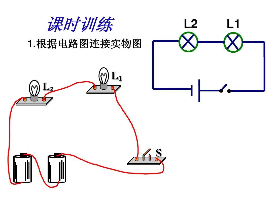 画电路图,连接电路ppt华东师大国际货运代理实务教案图片