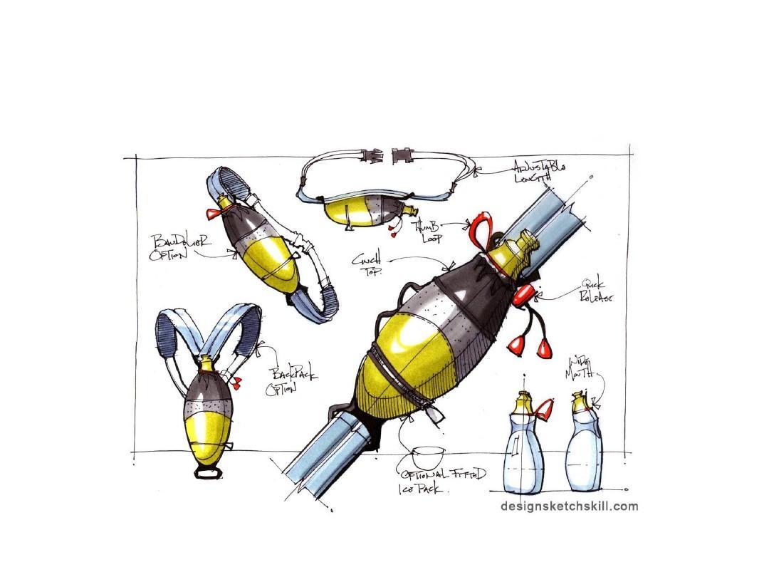 产品设计手绘素材,工业设计手绘,马克笔手绘,手绘素材,产品手绘教程图片