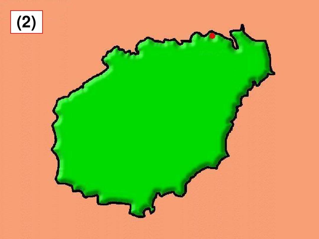 中国34个省级行政区轮廓图ppt图片