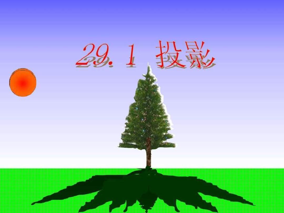 29.1投影课件.ppt