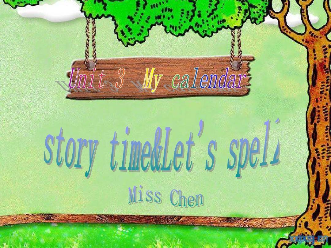新版五年级英语下册_Unit_3_story time&let's spell