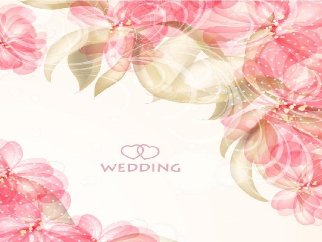 婚庆典精美ppt模板图片