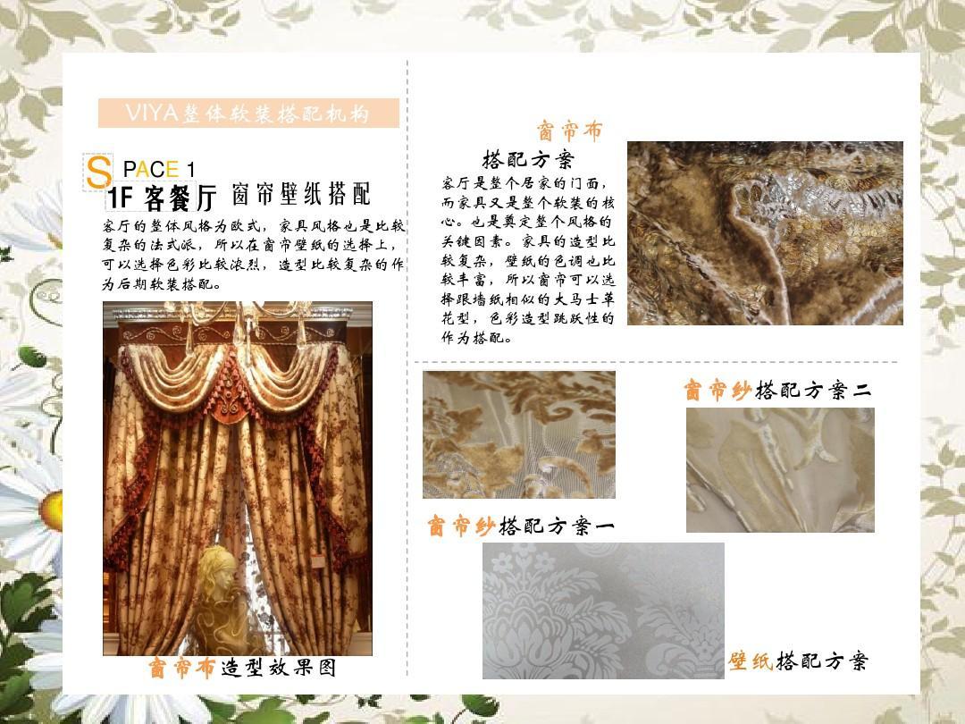 软装方案设计与排版ppt图片