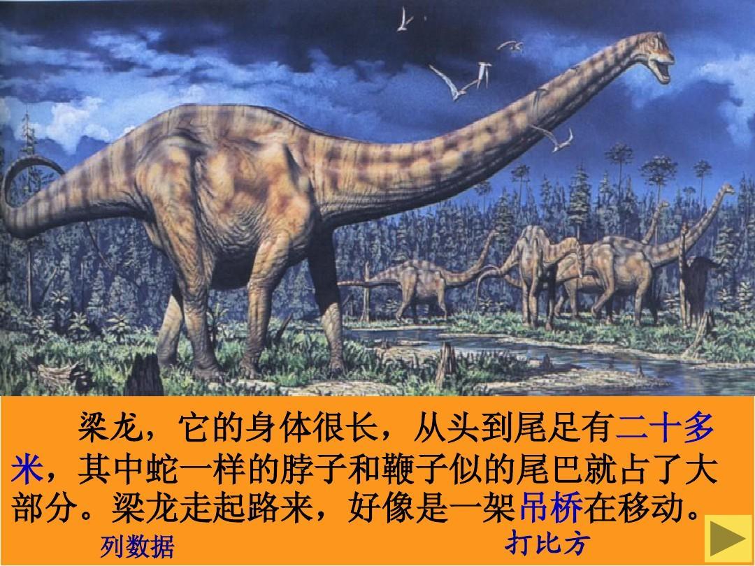苏教版三年级下册20课《恐龙》课件 2ppt图片