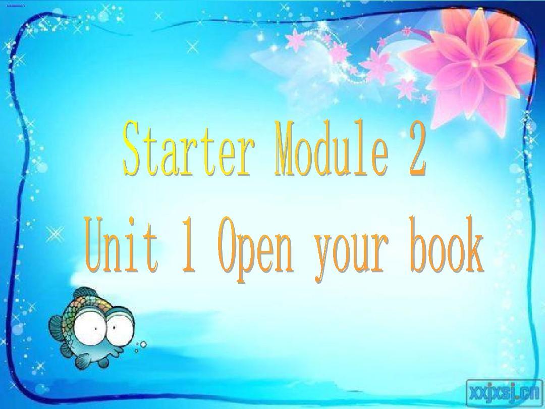 外研版英语七年级上册2012年秋_Starter_Module_2PPT