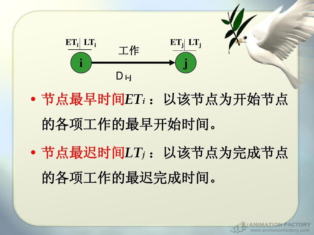 二级建造师�y.i_2013年二级建造师双代号网络计划时间参数计算详解ppt  eti lti 工作