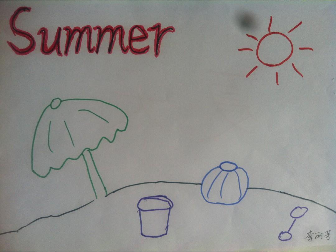 怎么画春夏秋冬的简笔画,最好是有图片展示-儿童画画大全简笔画春 夏图片
