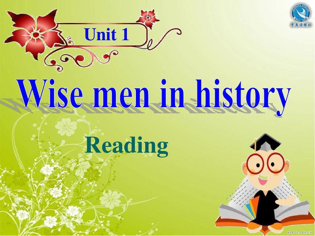 Wise men in historyPPT