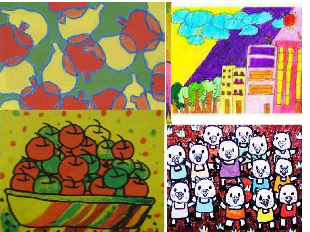 二年级上美术课件-重重叠叠人教新课标版ppt图片