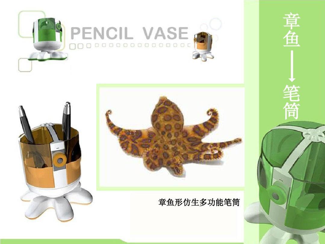 产品仿生设计案例PPT