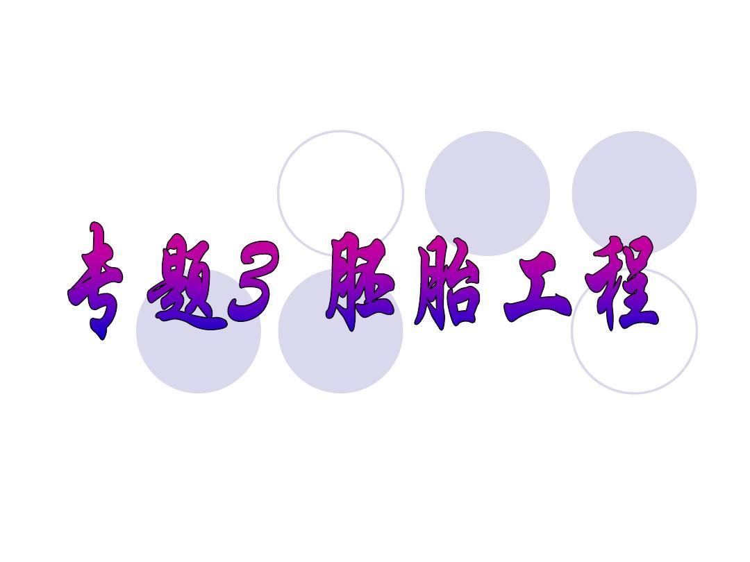 人教版教学课件[名校联盟]河北省鸡泽一中高二生物《体内受精和早期胚胎发育》课件