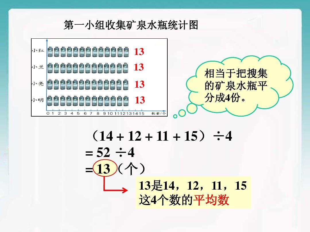 有5个数平均数是9_《平均数》教学课件2ppt