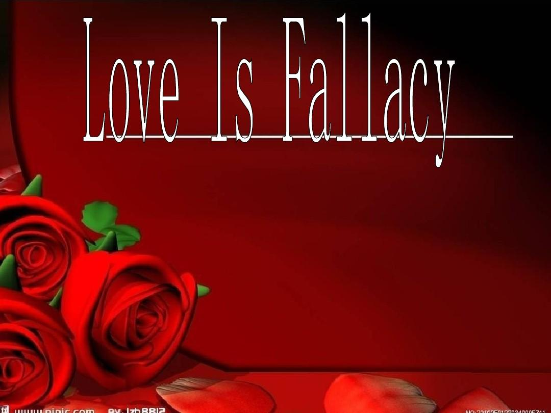 love is fallacuy The latin words non sequitur literally mean 'it does not follow'  billy must love to eat vegetables  non sequitur: definition & examples related study materials.