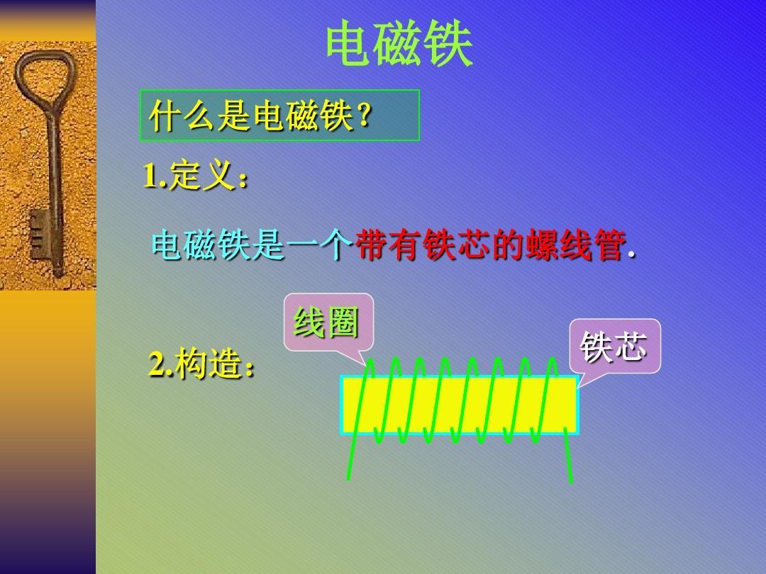 初中物理《电磁铁》(共14张)ppt3