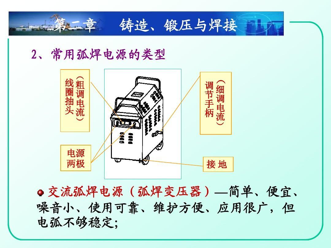 金工实习-焊接技术ppt图片
