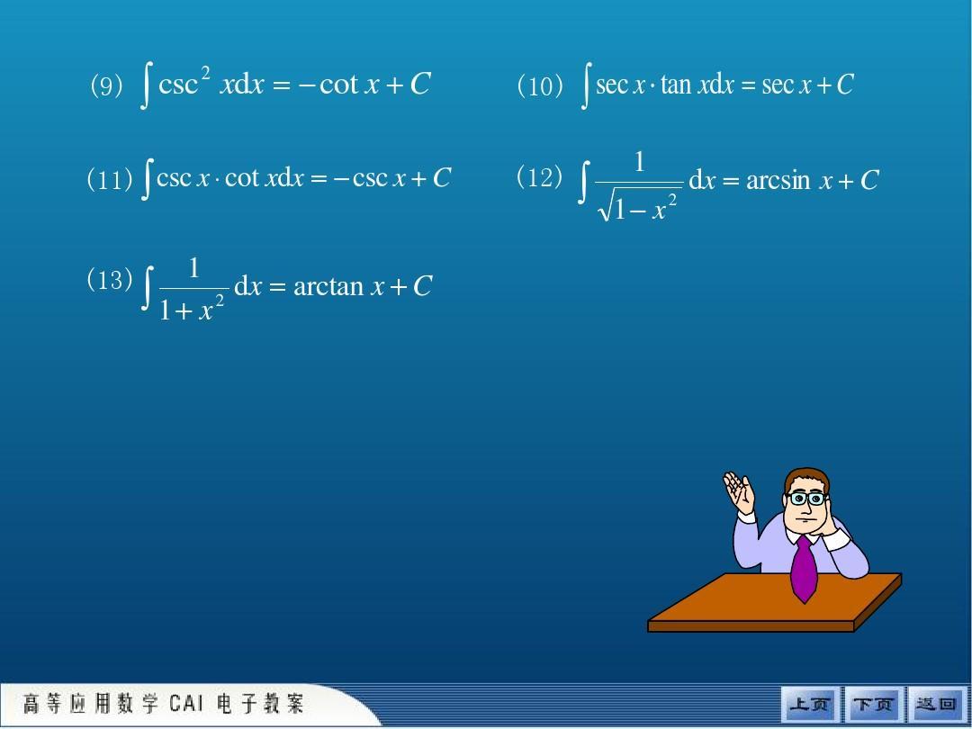3.2 微积分基本公式 (大学数学基础讲解)ppt图片