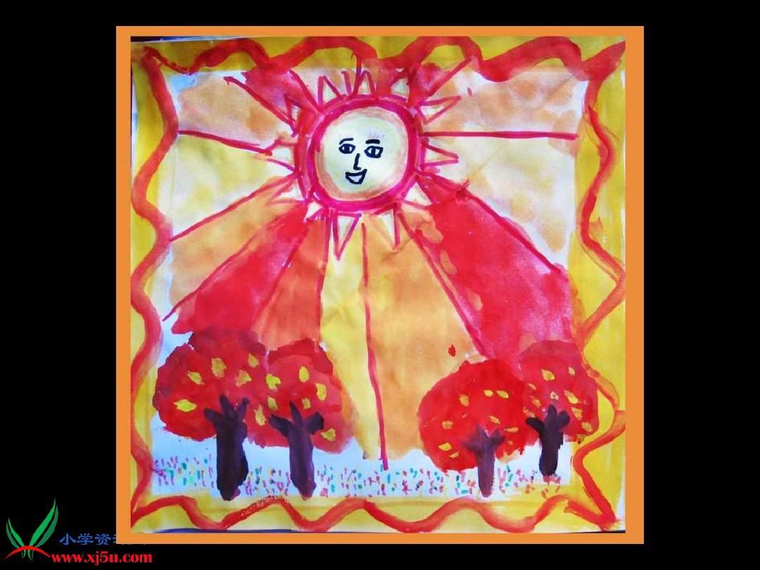 (人美版)六年级课件上册色彩画一幅美术和谐的画1ppt民间故事活动课后反思图片