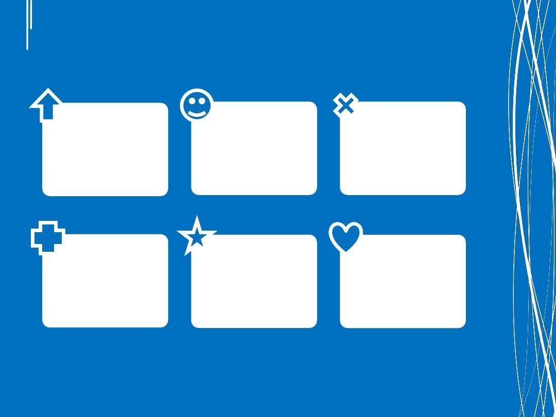 【模板】经典情趣之蓝白创意模板自我介绍精美个性模板ppt生活教材情趣有处处分析图片