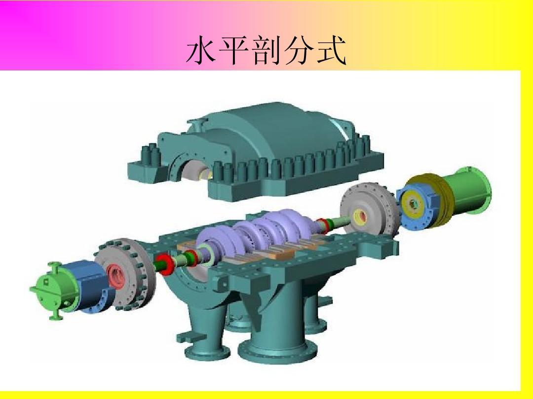 离心式压缩机结构原理ppt图片