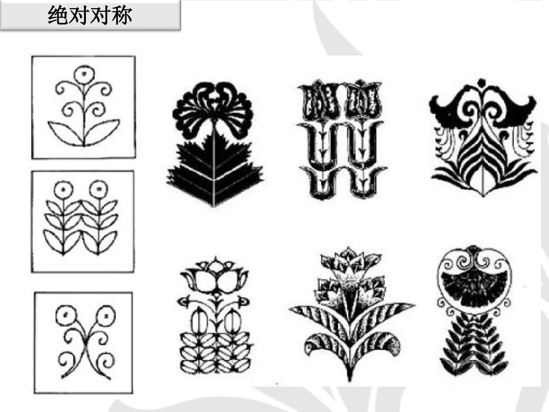 图案的组织形式适合纹样图案装饰图案的应用装饰图案设计图案构成图片