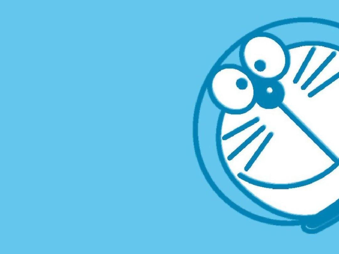 卡通 机器猫 哆啦a梦 背景的ppt图片