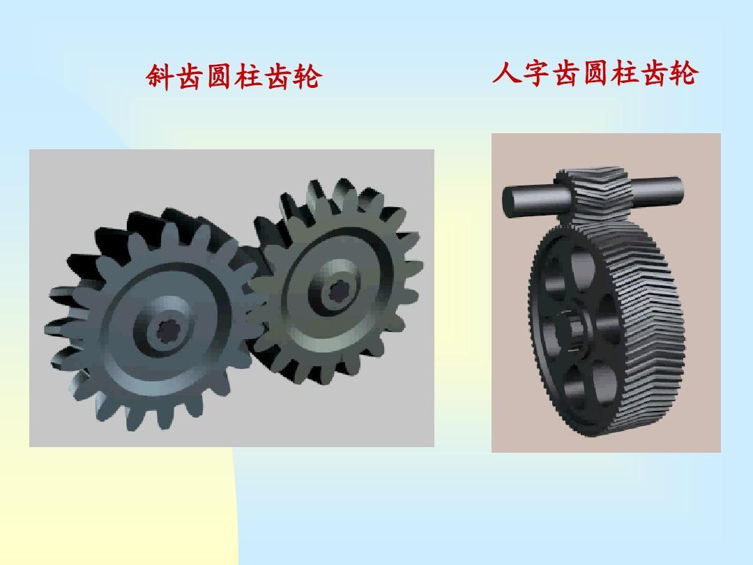 机械机构第05章年级教材ppt鲁教版英语六齿轮原理电子