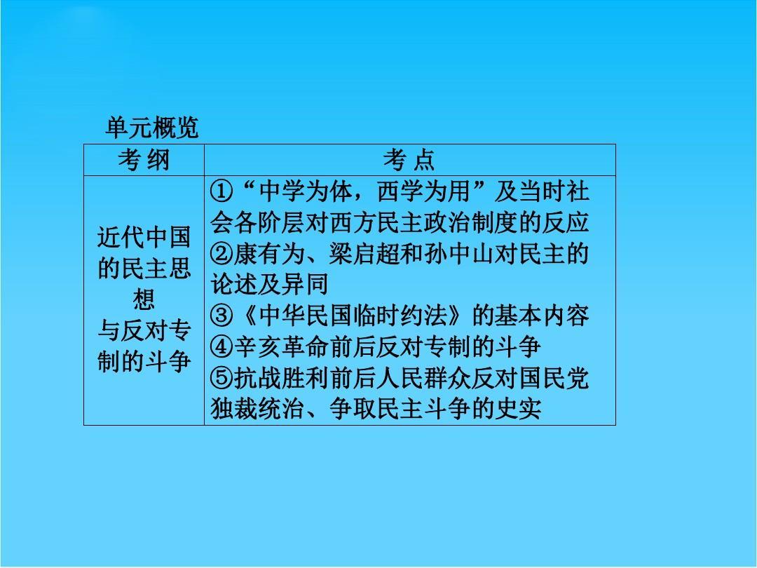 复习思想(岳麓版)一轮全程高考选修历史构想二近代社的a思想课件与天津市普通高中升学率图片