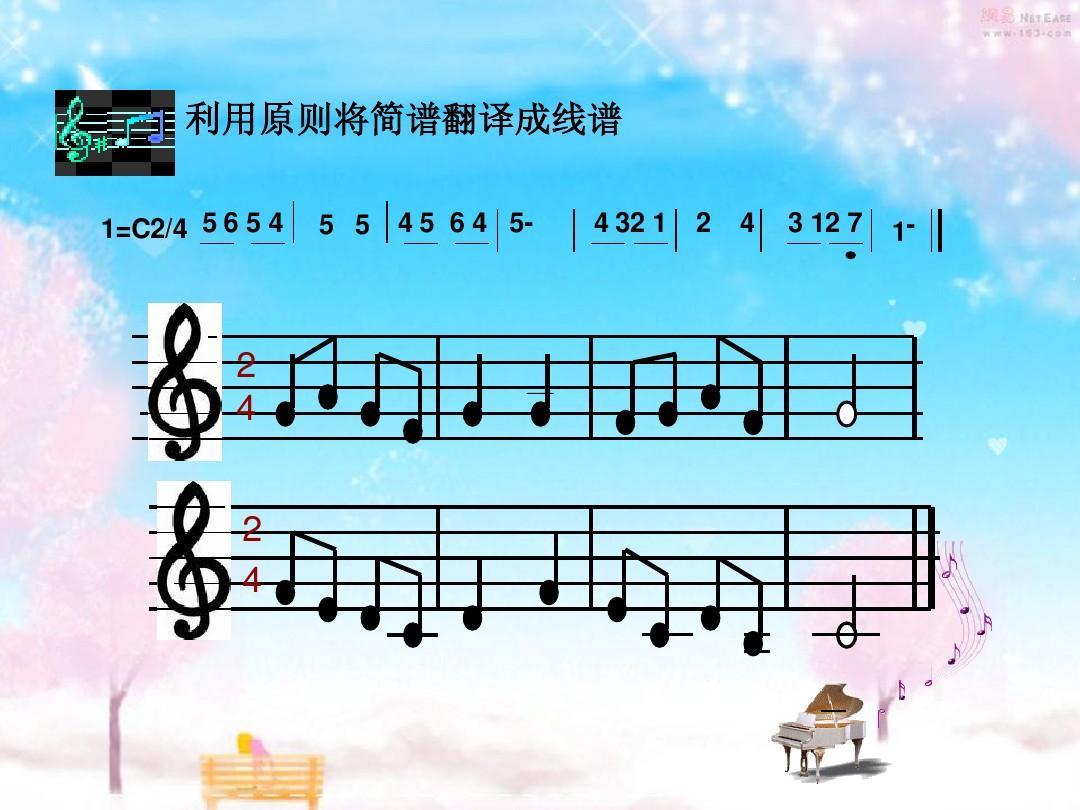 初学者专用 五线谱入门教程 钢琴五线谱入门 五线谱音符 小提琴入门图片
