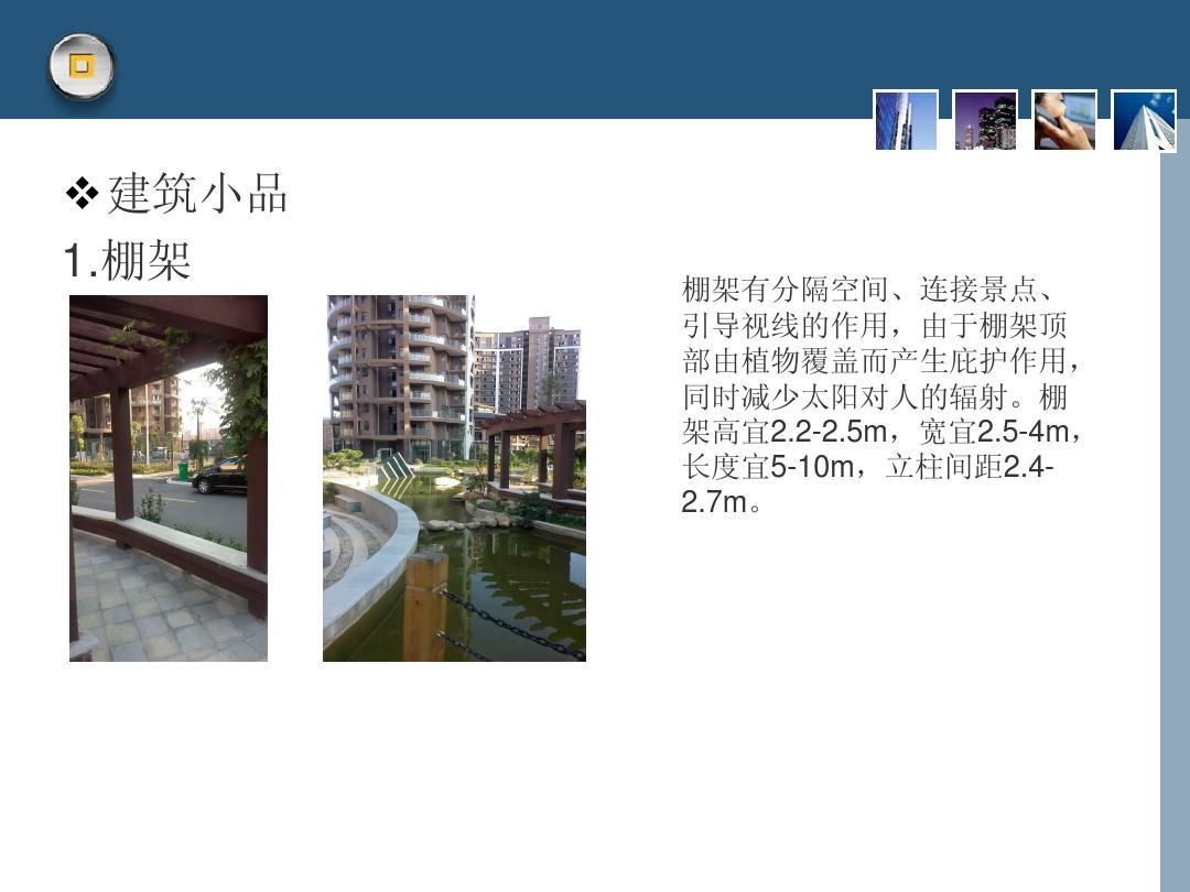 第十组 居住小区规划与景观设计调研报告ppt图片
