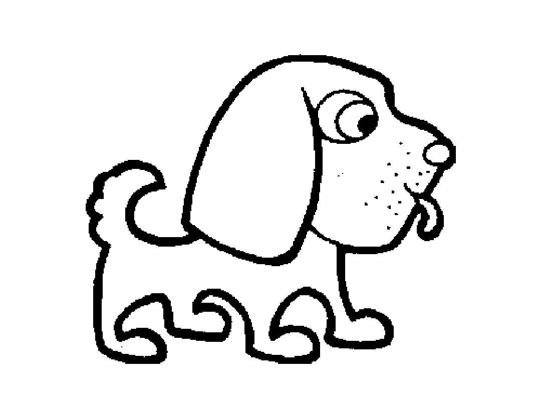小动物简笔画ppt