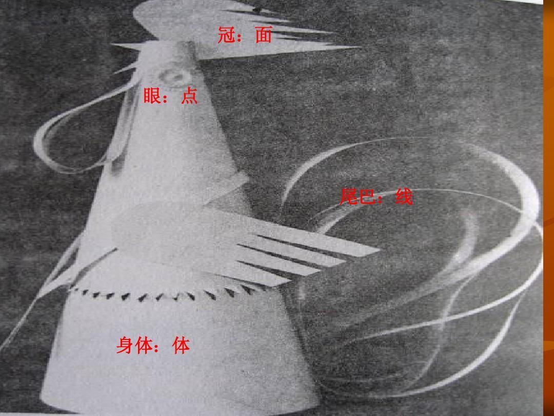 立体构成 点线面体构成实例ppt