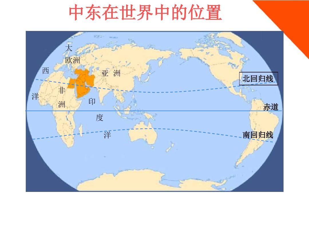 七年级地理下册7.2《中东》课件_商务星球版(3)ppt图片