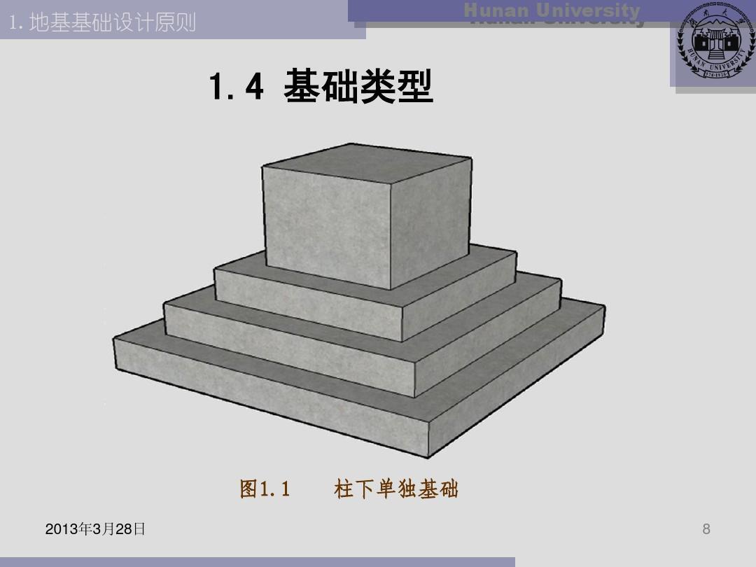 基础工程02地基基础设计原则ppt图片