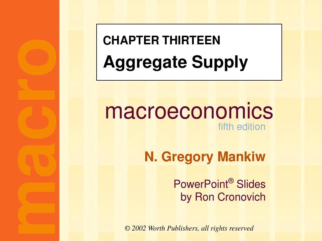 曼 昆 微观 经济 学 英文 版