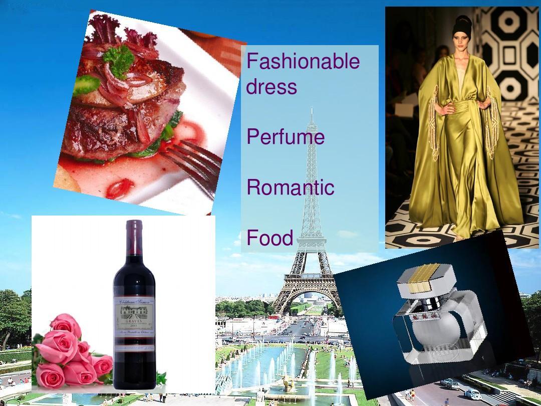 西安文章PPT英文介绍美食介绍美食法国图片