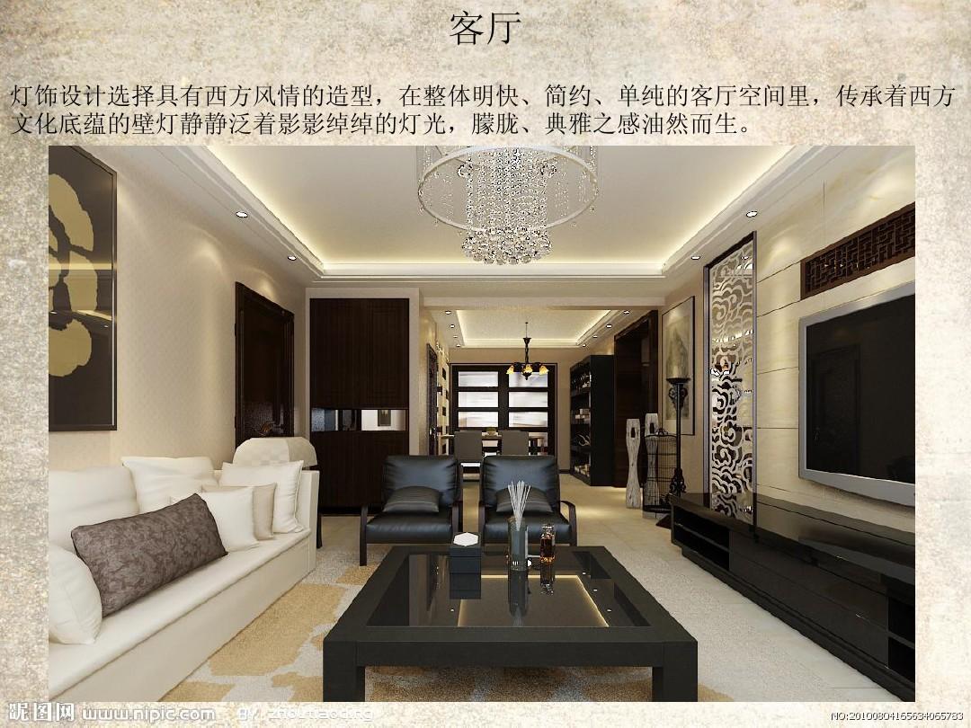 室内设计专业毕业答辩ppt复古风格图片