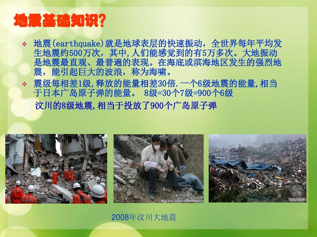 频道a频道v频道课件课件+2ppt天津知识自地震图片