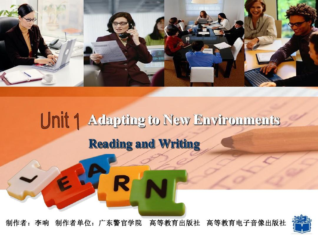 Unit 1-Reading and Writing