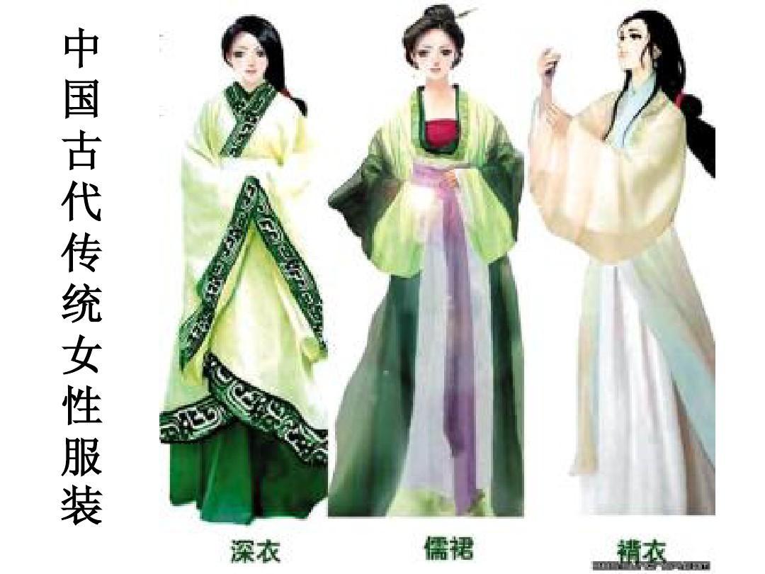 中国古代传统女性服装[1][1].ppt5图片