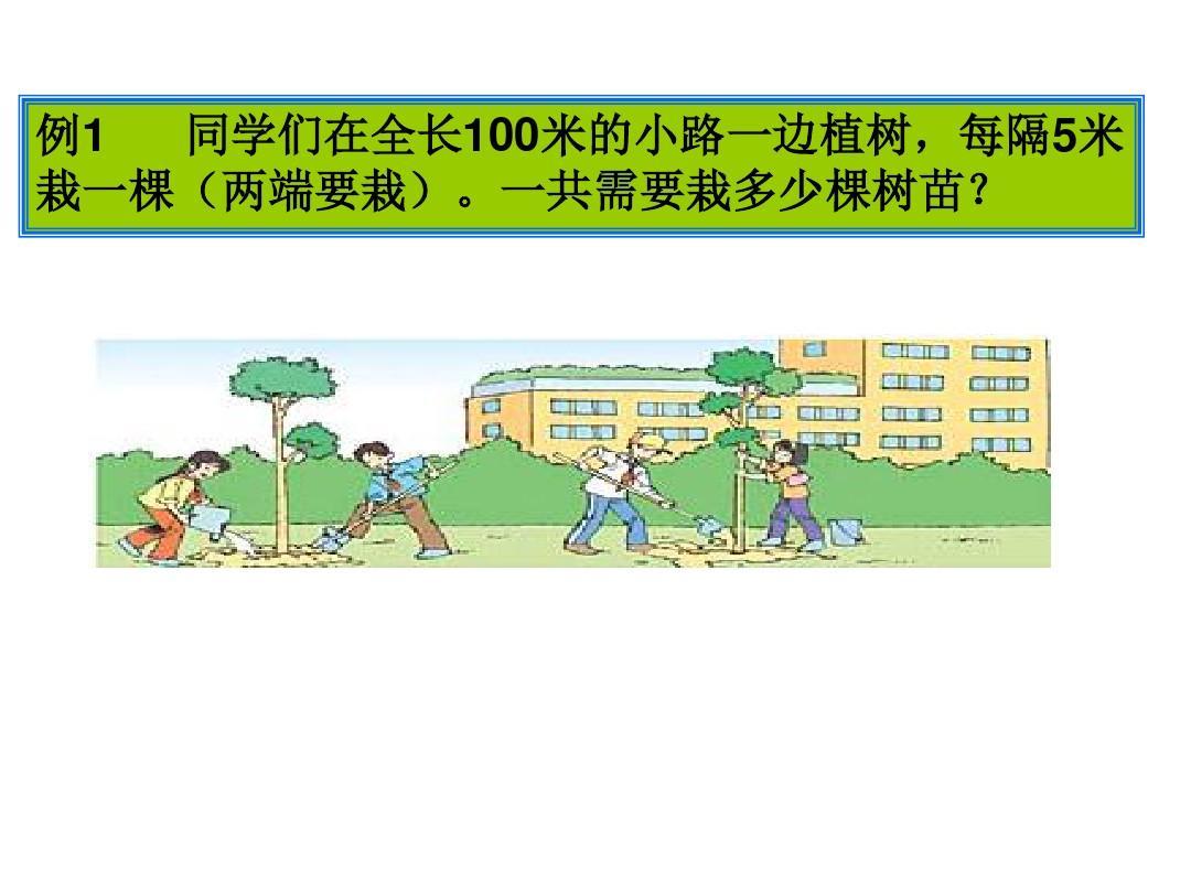 第10页(共19页,当前第10页)你可植树喜欢课件四年级植树问题flash课第一ppt问题图片