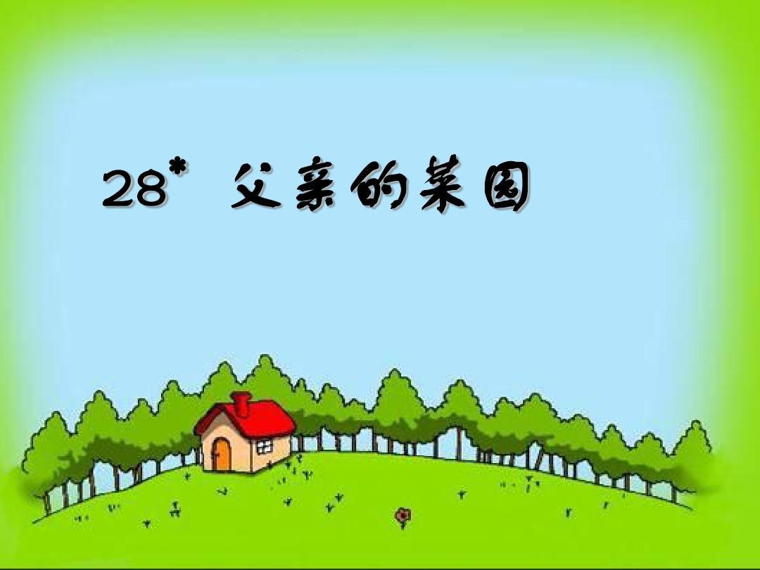 28父亲的菜园
