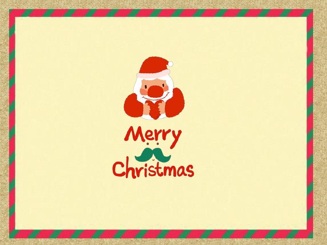 动态圣诞节ppt模板免费下载图片
