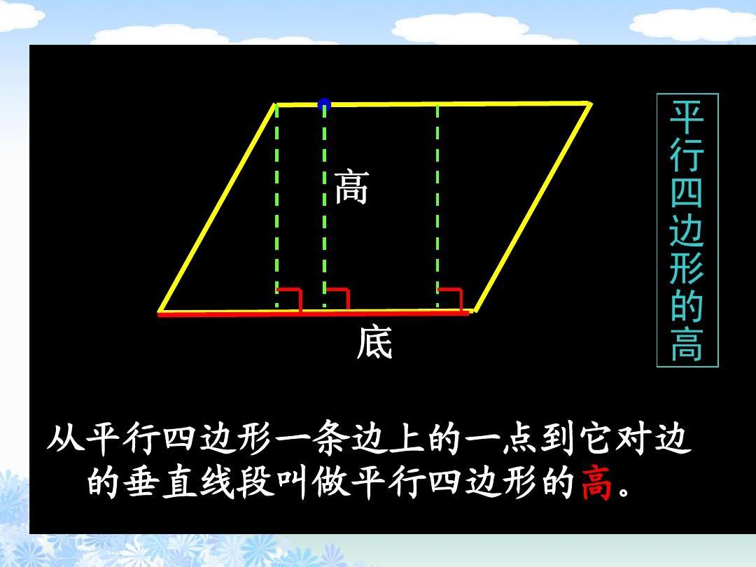 (苏教版)四年级数学下册课件 平行四边形1ppt图片